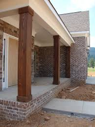 Decorative 4x4 Post Wraps Porch Makeover Details Front Porch Makeover Wraps And Wrought Iron