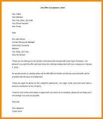 Formal Job Offer Template Interview Confirmation Email Sample Job Offer Acceptance