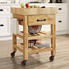 awesome butcher block kitchen cart