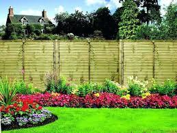 flower garden fence beautiful flower garden fence ideas
