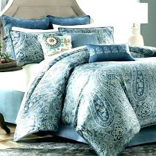 cynthia rowley duvet blue paisley bedding sets comforter design king chaps set b dachshund sheets queen
