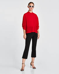 zara woman combined office. Image 1 Of Blouse From Zara Woman Combined Office E