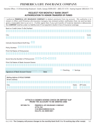 Fillable Online Legacybuilder Primerica Life Insurance