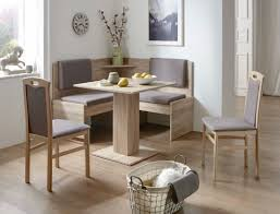 Eckbankgruppe Jada Buche Grau Braun 2x Stuhl Tisch Eckbank Essgruppe