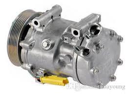 air conditioning pump. sd7v16 air conditioning compressor for fiat scudo citroen c5 c8 xsara peugeot 406 607 807 sanden 1828 1267 9659232180 6453 9683061880 discount pump c