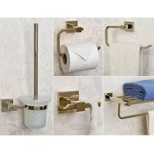 Bathroom Accessories Albury 5 Piece Bathroom Accessory Set Bathroom