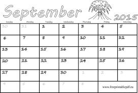 blank calendar 2015 september 2015 blank calendar free printable pdf