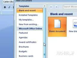 Resume Templates Microsoft Word 2007 Enchanting How To Create A Resume In Microsoft Word 48 YouTube