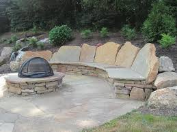 examples of our natural flagstone patio projects