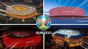 الملاعب 12 المستضيفة لكأس أمم أوروبا 2021 و جميع المجموعات المشاركة في  اليورو - YouTube