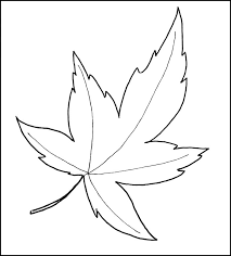 Printable Leaf Pattern