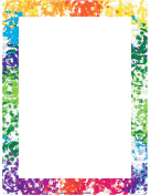 Small Picture Printable Page Borders