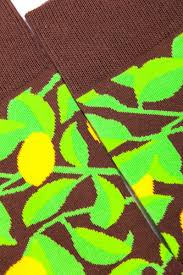 <b>Носки BURNING HEELS Лимоны</b> Зеленый купить в интернет ...