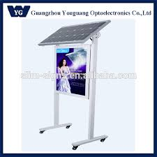 solar powered led sign outdoor solar led advertising board