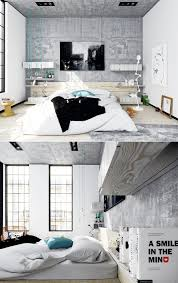 Loft For Bedrooms Bedroom Medium For Teenage Girls Themes Concrete Wall Other Decor