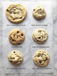 Cookie Chart All The Ways To F Ck Up A Chocolate Chip Cookie Coolguides