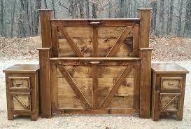 Rustic King Bed Frame Ideas — King Beds Design