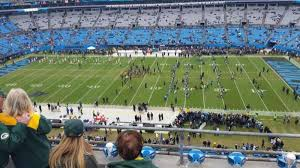 Bank Of America Stadium Section 513 Row 1a Home Of