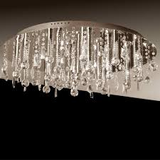 brizzo lighting stores  miraggio modern crystal flush mount