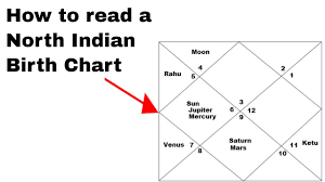 Learn How To Read A North Indian Birth Chart