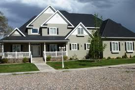 House With Black Trim Exterior Paint Color Ideas With Black Trim
