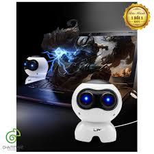 Loa Vi Tính Laptop Để Bàn Loa Nghe Nhạc Mini Q900 Hình Robot Âm Thanh –  Chammart - Phụ Kiện Thông Minh