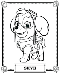 Innovational Ideas Printable Coloring Pages For Paw Patrol Nickjr