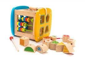 <b>Деревянная игрушка Bradex Игра</b> развивающая Бизикуб ...