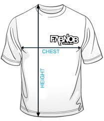 Sizing Fab Nob Boutique T Shirts Online