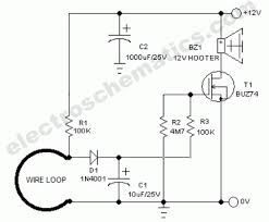 wire break sensor alarm circuit schematic wire break sensor alarm circuit schematic