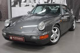 porsche 911 classic interior. built 1990 mileage 183035 km color schiefergrau with black leather interior particulars very fine 911 carrera 4 in a perfect and well porsche classic