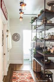 Floor To Ceiling Kitchen Pantry Diy Show Off Industrial Pantry Makeover And Open Shelving