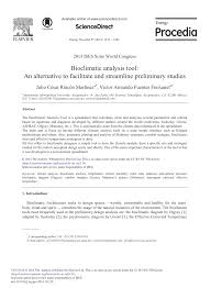 Bioclimatic Analysis Tool An Alternative To Facilitate And