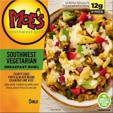 Kelloggs Moes Southwest Grill Southwest Vegetarian Mild
