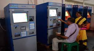 How To Use Ticket Vending Machine In Railway Station Mesmerizing COTVMs At Railway Stations Adds To Problems