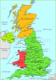 united kingdom map  uk political map  annamapcom