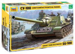"""<b>Сборная модель ZVEZDA</b> Советский истребитель танков """"<b>СУ</b> ..."""