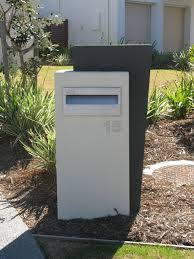 Modern Letterbox Ideas Beauteous Rendered Lightweight Letterboxes Easy Diy  Letterboxes Polytek 2017