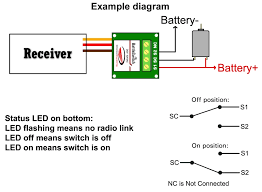 battleswitch radio controlled 10a relay switch pertaining to pico relay wiring diagram