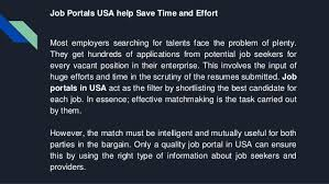 Best Job Portal In Usa Job Portals In Usa Help You Find Right Job