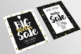 2017 banner flyer templates on creative market set of christmas flyer template