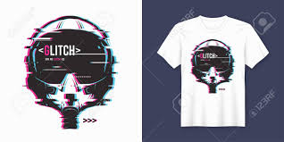 Trendy T Shirt Designs Stylish T Shirt And Apparel Trendy Design With Glitchy Flight