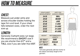 Carhartt Overall Size Chart Carhartt 104031 Washed Duck Bib Overalls Quilt Lined