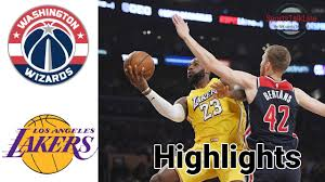 Wizards vs Lakers HIGHLIGHTS Full Game + OT