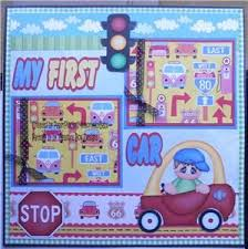 my first car essay my first car scrapbook paper