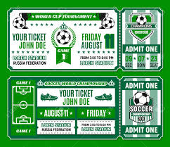 Free Football Invitation Templates Soccer Ticket Template Of Football Tournament Invitation Football
