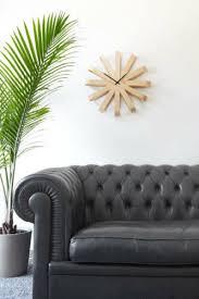 home diy umbra ribbonwood wall clock