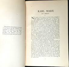 karl marx an essay harold j laski first edition karl marx an essay