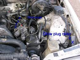 diy glow plug relay and glow plugs mercedes benz forum