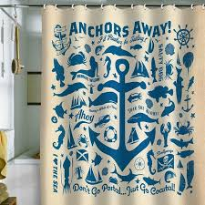 deny designs anderson design group anchors away pattern shower curtain contemporary showers pure home